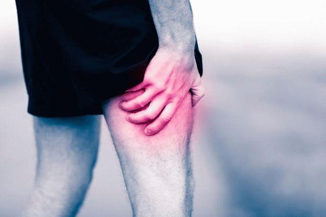 Миозит мышц бедра симптомы лечение